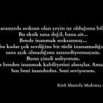 Kürk Mantolu Madonna – Sabahattin Ali / A. Ömer Türkeş