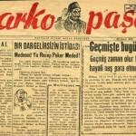 Markopaşa Efsanesi – Sabahattin Ali / ORHAN TÜLEYLİOĞLU