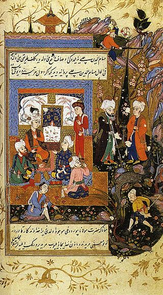 Jalal_al-Din_Rumi,_Showing_His_Love_for_His_Young_Disciple_Hussam_al-Din_Chelebi (2)