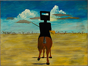 from Sidney Nolan's Ned Kelly Series (1946) Paintings