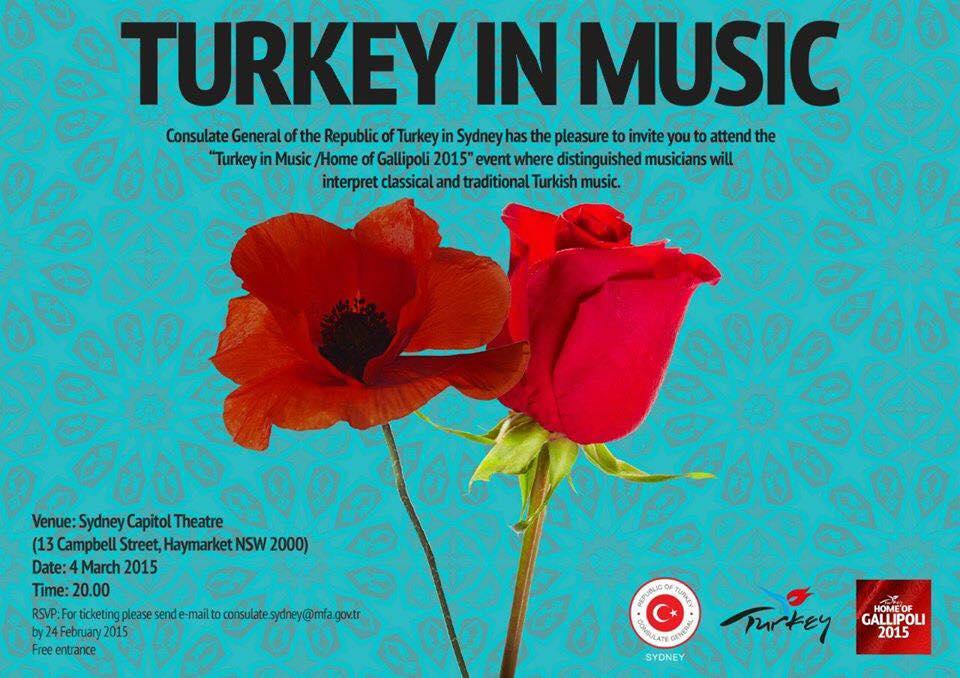 The year of Turkey in Australia